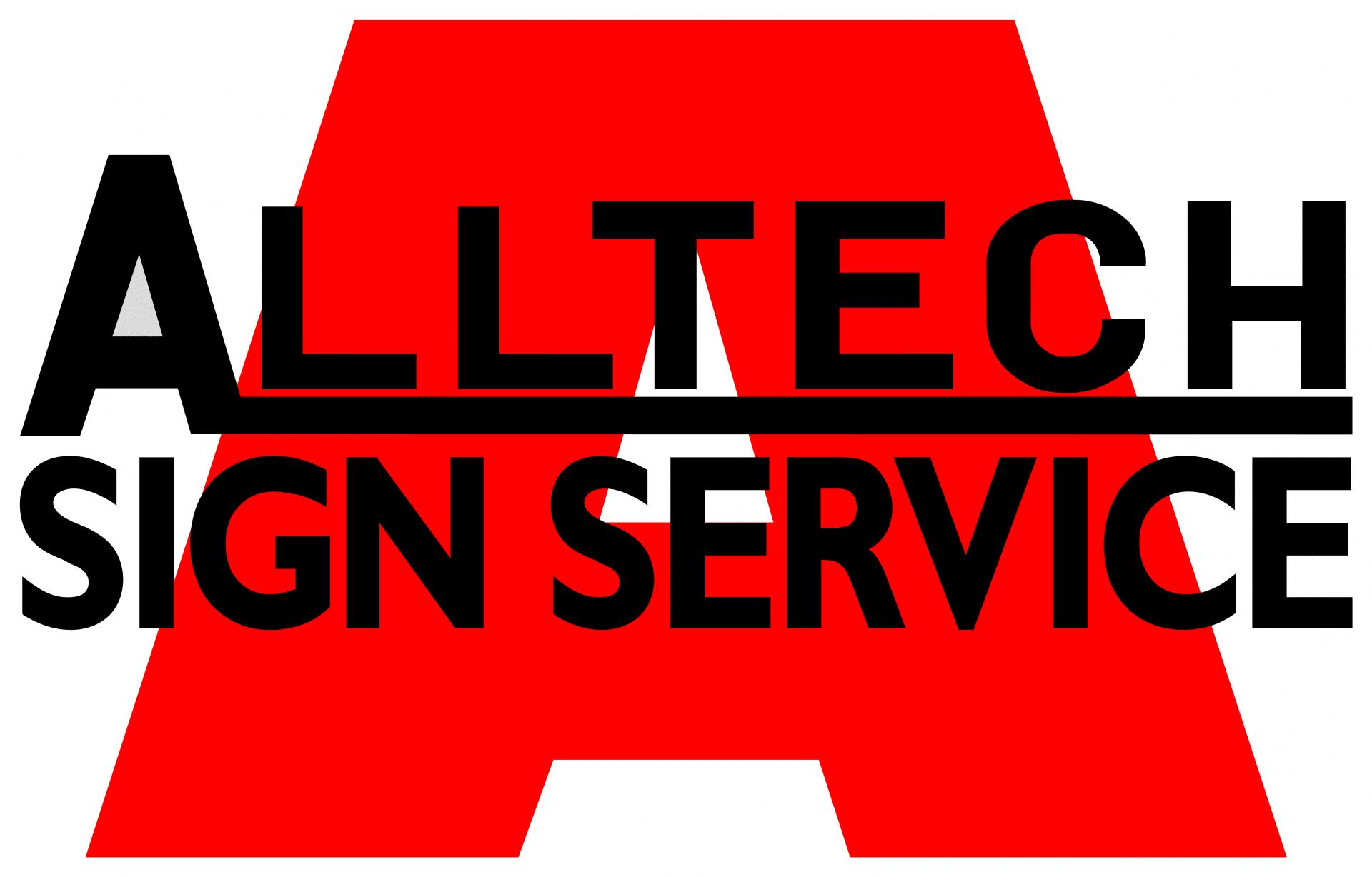 Alltech sign service logo
